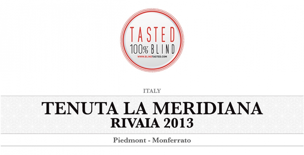 Rivaia 2013 - Blind Tasted Larsson.